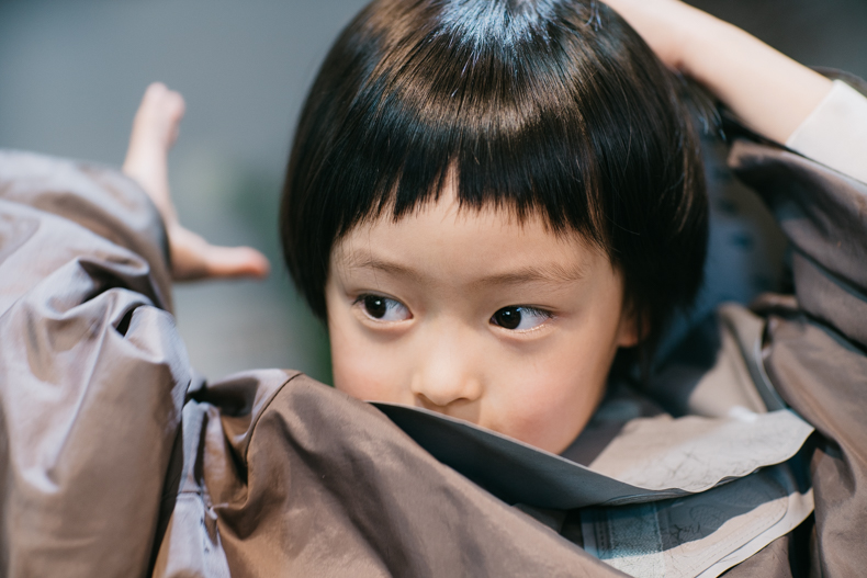 20180314  DSC8311 - ヒカリ髪を切る